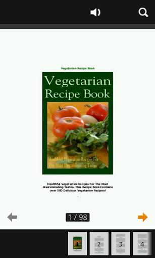 Vegetarian Recipes FREE Book