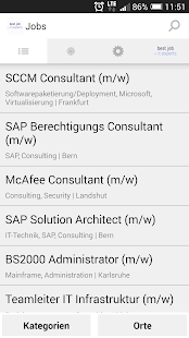 BJC Job App - screenshot