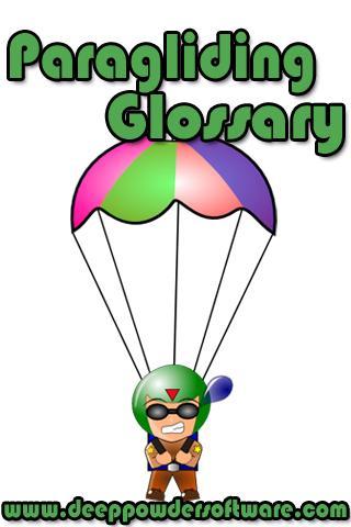 Paragliding Glossary