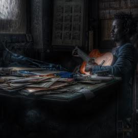 Light in dark by Aitor Arana Arruti - People Musicians & Entertainers