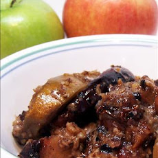 Breakfast Apple Cobbler