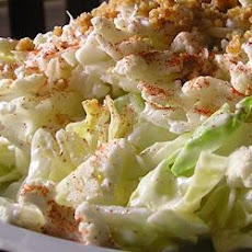 Cauliflower Romaine Salad