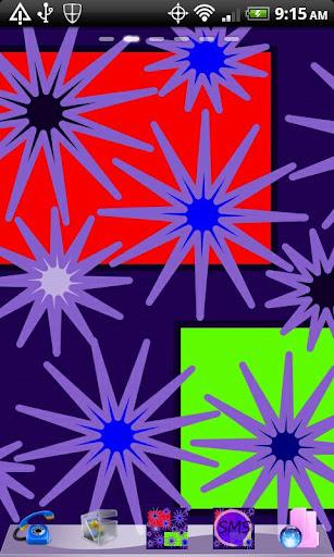 Go Launcher Purple POPS