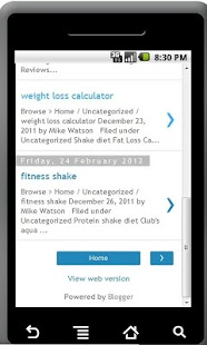 Quick Weight Loss Solutions - screenshot