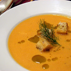 Roasted Tomato and Fennel Soup