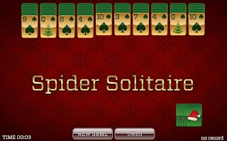 Screenshot of Christmas Solitaire FREE