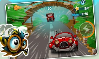 Screenshot of Bumblebee Race Adventure