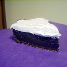 Easy Chocolate Tofu Pie