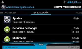 Screenshot of Free 3G internet balance