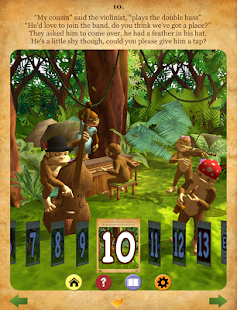 Gorilla Band 3D story book - screenshot