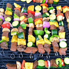 Balsamic Steak Shish Kabobs