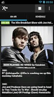 Screenshot of XFM Radio App