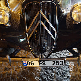 Grill work by Donald Henninger - Artistic Objects Antiques ( available light, grill, automobile, sony alpha, silver, artistic object, turkey, istanbul, cobblestone, black, street photography )
