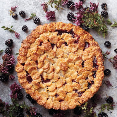 Blackberry-Oregano Pie