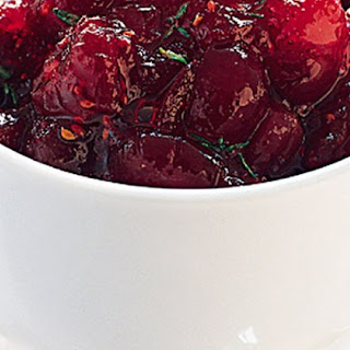 Cranberry, Orange And Thyme Sauce