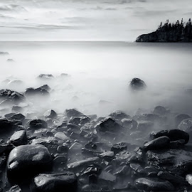 Black Beach  by Paulino J.  - Landscapes Beaches