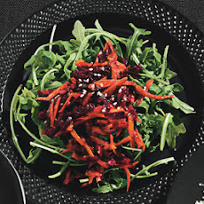 Beet and Carrot Salad with Coriander and Sesame Salt