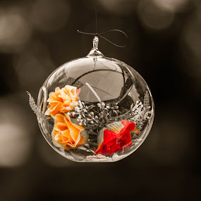 Micro Cosmos by Cosmin Lita - Artistic Objects Glass ( roses, glass, artistic, artistic objects, suspended,  )