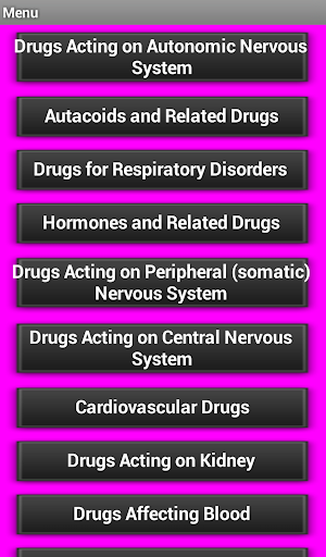 Drugs Classification - screenshot