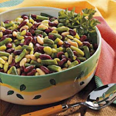 Dijon Four-Bean Salad