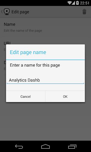 Web2Cast - screenshot
