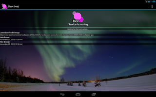 Screenshot of Sleex Wallpaper Changer (free)