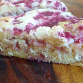 Raspberry White Chocolate Buttermilk Scones