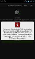 Screenshot of Bitdefender Anti-Theft