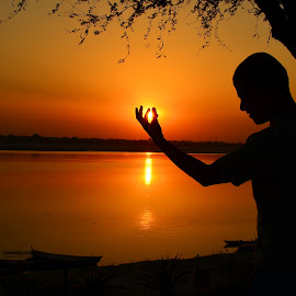 Posture by Soumya Biswal - Artistic Objects Other Objects ( nature, sunset, colors, fine art, mood, people )