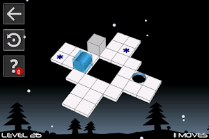 Screenshot of Bobbin 3D: the logical maze