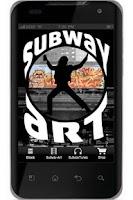 Screenshot of NYC Subway Art
