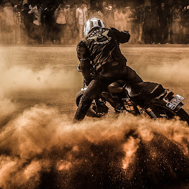 Two wheels move the soul by Vishnu Gopakumar - Sports & Fitness Motorsports ( bike, stunting, bikestunts, motorcycle, stunts, dirt )