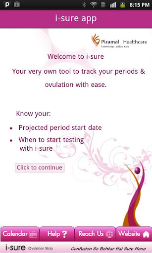 i-sure app for ovulation