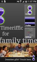 Screenshot of Timeriffic