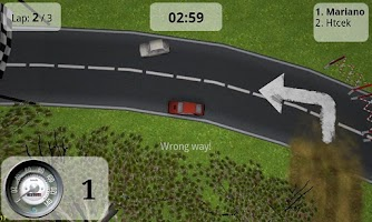 Screenshot of Relict Racer Free