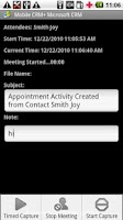 Screenshot of Contact Manager MS CRM