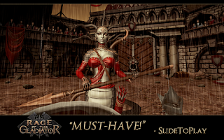 Screenshot of Rage of the Gladiator (Xperia)