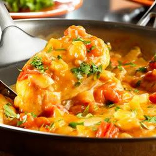 Chicken with Chipotle Cheese Sauce