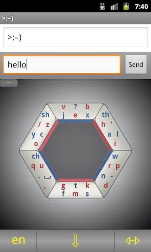 Hexogen keyboard