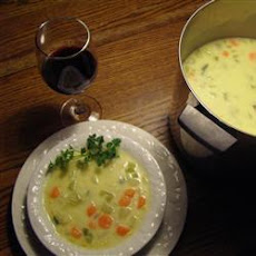 Cheese and Vegetable Chowder