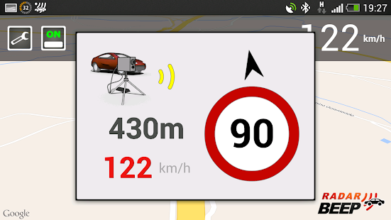 App Radar Beep - Radar Detector apk for kindle fire
