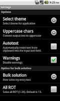 Screenshot of Cipher tools