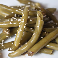 Green Beans with Sesame Dressing