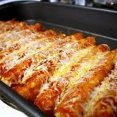 Luby's Cafeteria Cheese Enchiladas With Chili Sauce