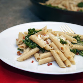 Bacon Kale Pasta