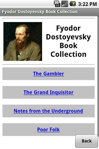 Fyodor Dostoyevsky Books