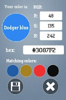 Screenshot of Color Helper 4 Men (picker)