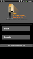 Screenshot of 12 Steps AA Spiritual Toolkit