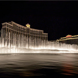 The Dancing Fountain, Belagio Hotel, Las Vegas, NV by Tin Tin Abad - Buildings & Architecture Other Exteriors