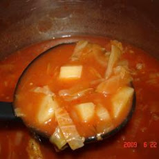 Cabbage Borscht Mennonite Soup